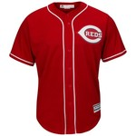 Majestic Men's Cincinnati Reds Joey Votto #19 Cool Base® Alternate Jersey - view number 2