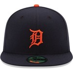 New Era Men's Detroit Tigers 59FIFTY Road Cap - view number 4