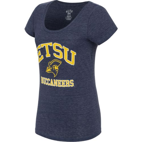 Blue 84 Juniors' East Tennessee State University Triblend T-shirt