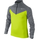 Nike Boys' Element 1/2 Zip Long Sleeve Running Shirt
