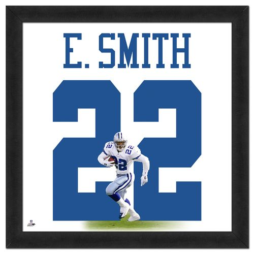 Photo File Dallas Cowboys Emmitt Smith #22 UniFrame 20' x 20' Framed Photo