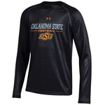 Under Armour® Kids' Oklahoma State University Tech Long Sleeve T-shirt