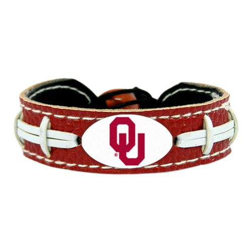 GameWear University of Oklahoma Team Color Football Bracelet