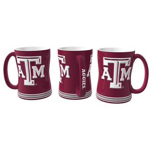 Display product reviews for Boelter Brands Texas A&M University 14 oz. Relief-Style Coffee Mug