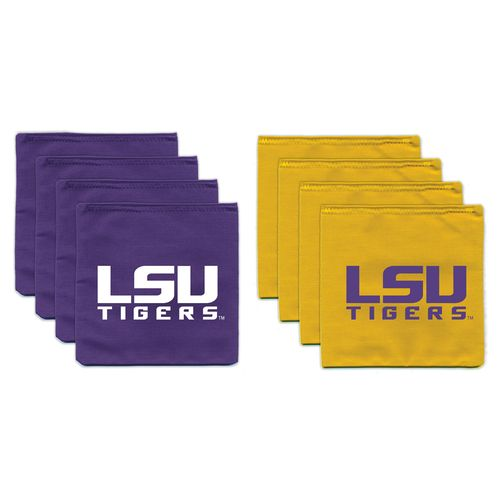 BAGGO® Louisiana State University 12 oz. Cornhole Beanbag Toss Bags 8-Pack