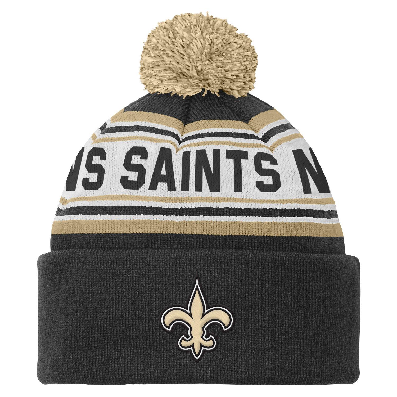 NFL Kids' New Orleans Saints Cuffed Knit Cap