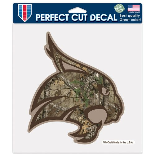 WinCraft Texas State University Camo Perfect Cut Color Decal