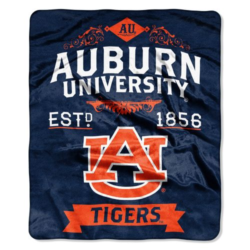 The Northwest Company Auburn University Label Raschel Throw