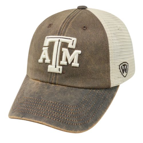 Top of the World Adults' Texas A&M University ScatMesh Cap