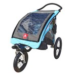 Allen Sports 1-Child Aluminum Jogger & Bicycle Trailer - view number 2