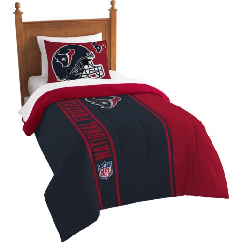 The Northwest Company Houston Texans Twin Comforter and Sham Set