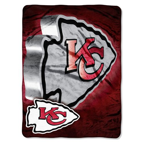 The Northwest Company Kansas City Chiefs Bevel Micro Raschel Throw