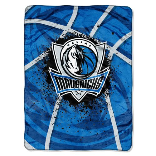 The Northwest Company Dallas Mavericks Shadow Play Super Plush Throw