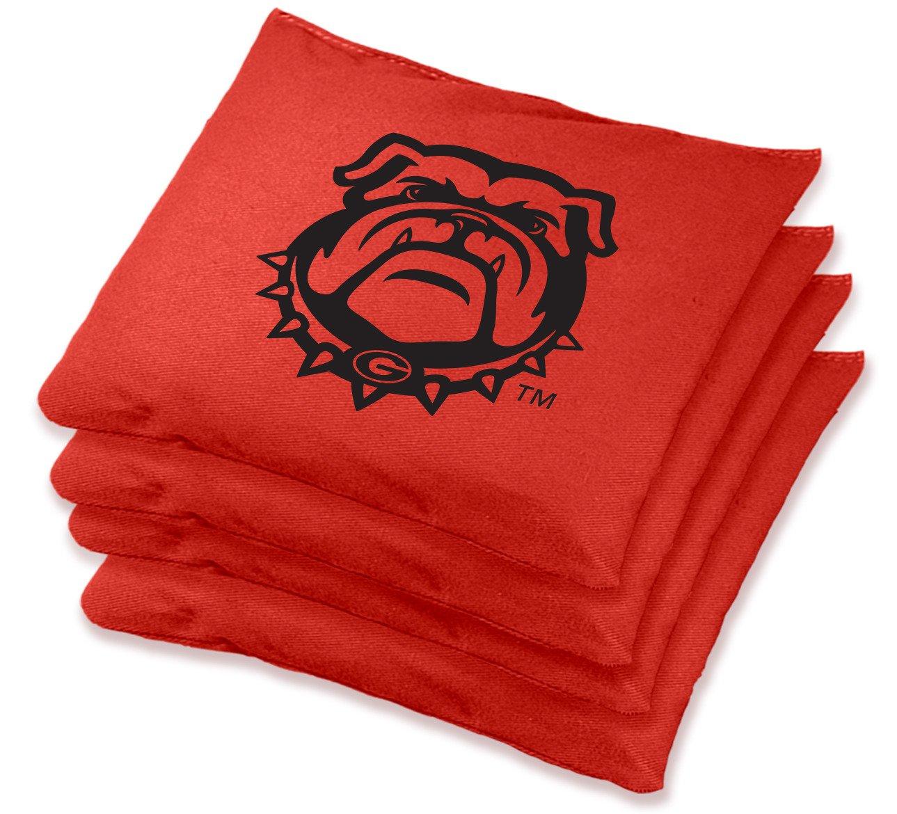 Wild Sports University of Georgia Regulation Beanbags 4-Pack