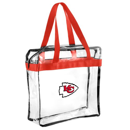 Team Beans Kansas City Chiefs Clear Messenger Bag
