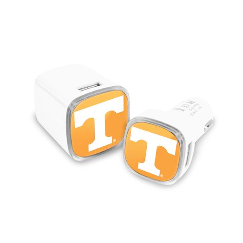 Mizco University of Tennessee USB Chargers 2-Pack