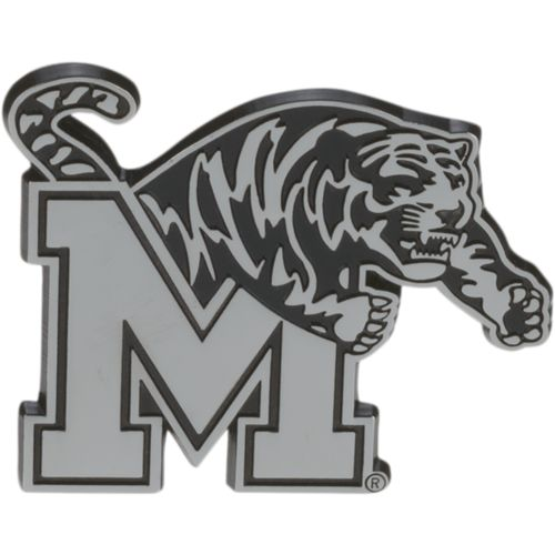 Stockdale University of Memphis Chrome Freeform Auto Emblem