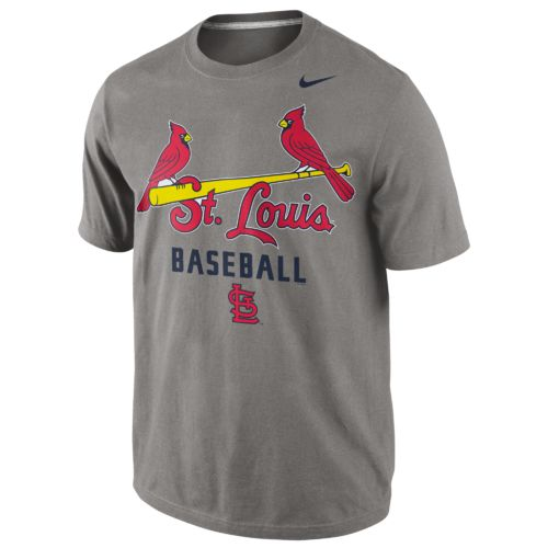 Nike™ Men's St. Louis Cardinals Away Practice Short Sleeve T-shirt