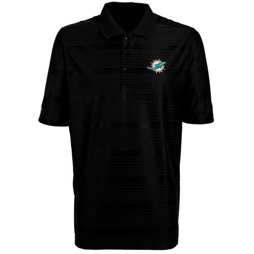 Antigua Men's Miami Dolphins Illusion Polo Shirt