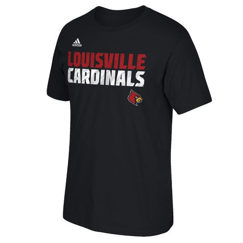 adidas™ Men's University of Louisville Sideline Shock Energy T-shirt