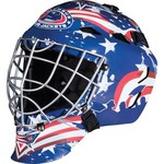 Franklin Boys' Columbus Blue Jackets GFM 1500 Goalie Face Mask