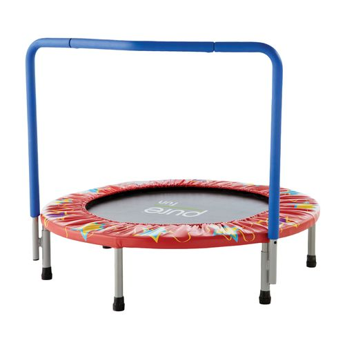 Pure Fun Kids' 36 in Trampoline with Handrail - view number 1