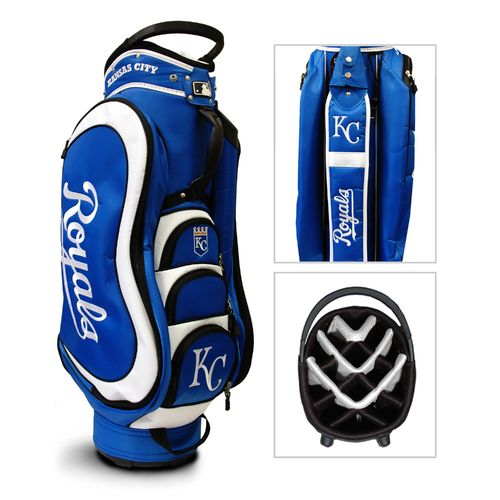 Team Golf Kansas City Royals Medalist 14-Way Cart Golf Bag