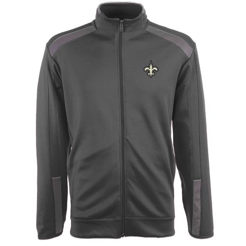 Antigua Men's New Orleans Saints Flight Jacket