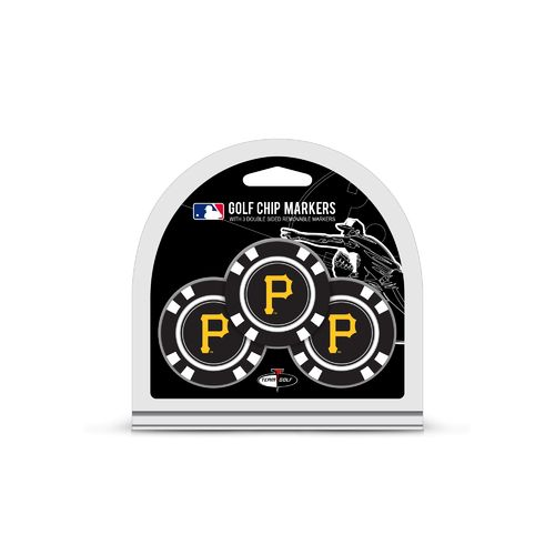 Team Golf Pittsburgh Pirates Poker Chip and Golf