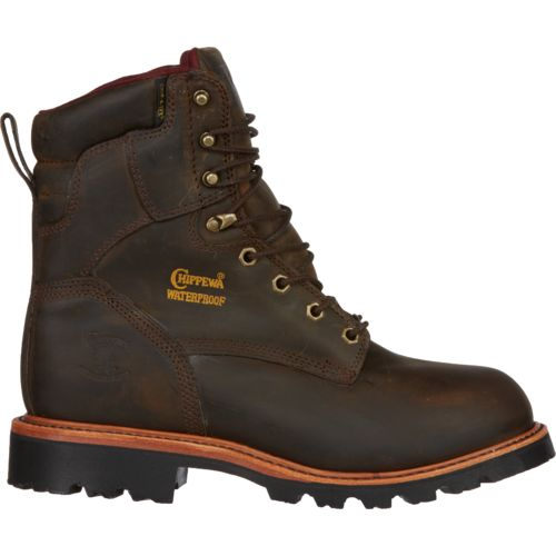 Chippewa Boots® Men's Bay Apache Utility Steel Toe Rugged Outdoor Boots