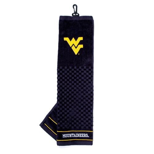 Team Golf West Virginia University Embroidered Towel