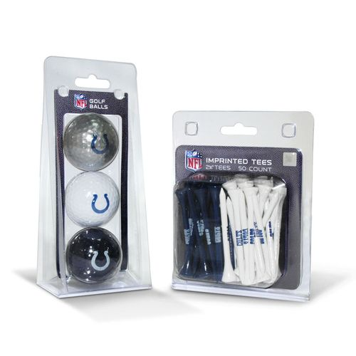 Team Golf Indianapolis Colts Golf Balls and Tees Set