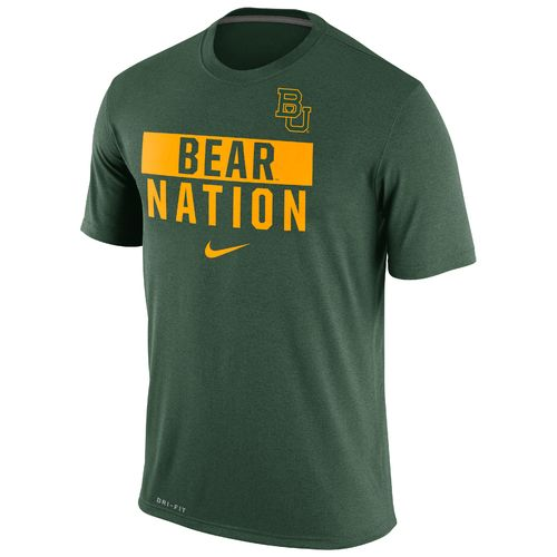 Nike Men's Baylor University Legend Local Verb T-shirt