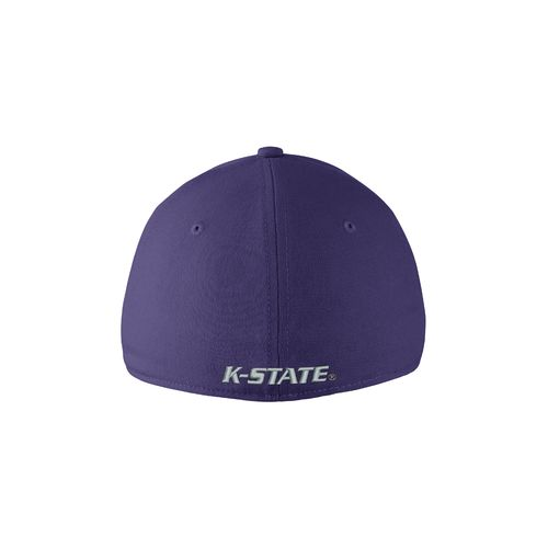Nike™ Adults' Kansas State University Swoosh Flex Cap - view number 2