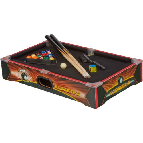 Triumph Sports USA Lumen-X Light Up Tabletop Billiards