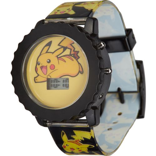 Pokemon Kids' Pikachu Flashing Watch