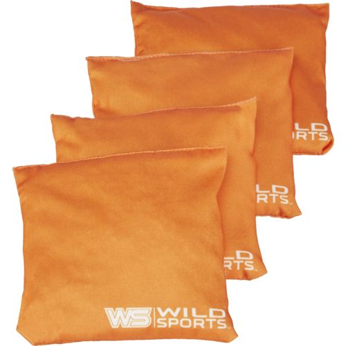 Wild Sports Tailgate Toss XL Regulation Beanbags 4-Pack