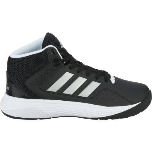 adidas basketball shoes white. adidas men\u0027s neo label cloudfoam ilation mid basketball shoes - view number white