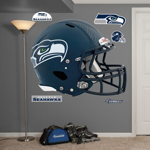 Fathead Seattle Seahawks Real Big Helmet Decal
