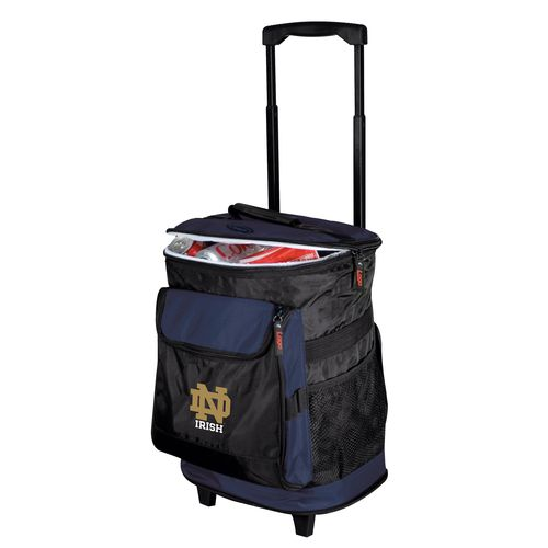 Logo™ University of Notre Dame 48-Can Rolling Cooler - view number 1