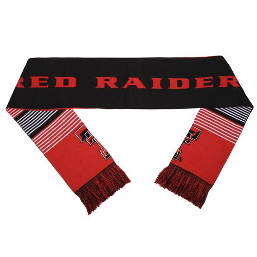 Forever Collectibles™ Adults' Texas Tech University Reversible Split Logo Scarf