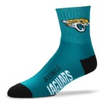 For Bare Feet Men's Jacksonville Jaguars Originals Team Quarter Socks