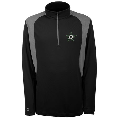 Antigua Men's Dallas Stars Delta 1/4 Zip Pullover