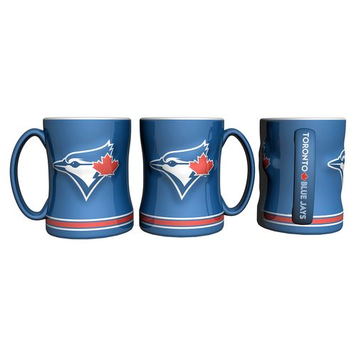 Boelter Brands Toronto Blue Jays 14 oz. Relief Coffee Mugs 2-Pack