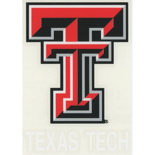 "Stockdale Texas Tech University 4"" x 7"" Decals 2-Pack"