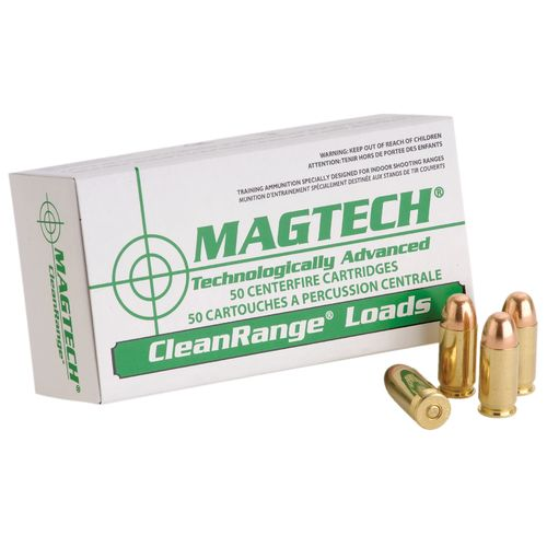 Magtech CleanRange Fully Encapsulated Bullet Centerfire Handgun Ammunition - view number 1