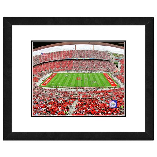 Photo File Ohio State University Stadium 16' x 20' Matted and Framed Photo