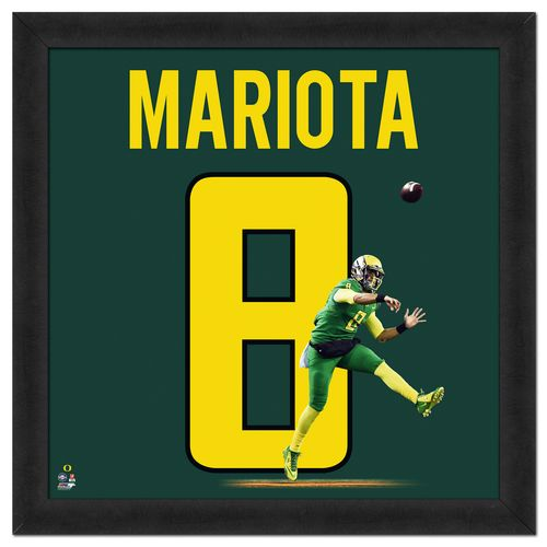 Photo File University of Oregon Marcus Mariota UniFrame - view number 1