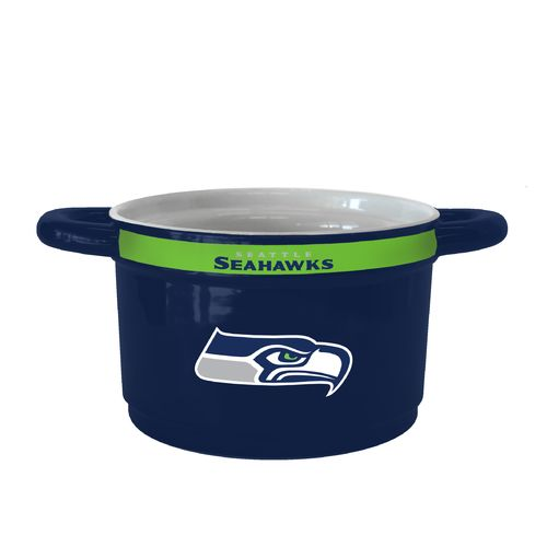 Boelter Brands Seattle Seahawks Gametime 23 oz. Ceramic Bowl