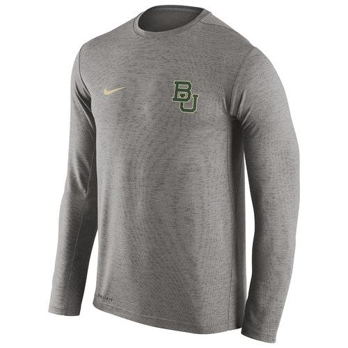 Nike™ Men's Baylor University DF Touch Long Sleeve T-shirt